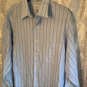 Van Heusen Broadcloth Wrinkle Free Dress Shirt